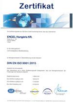 Engel Zertifikat Ungarn